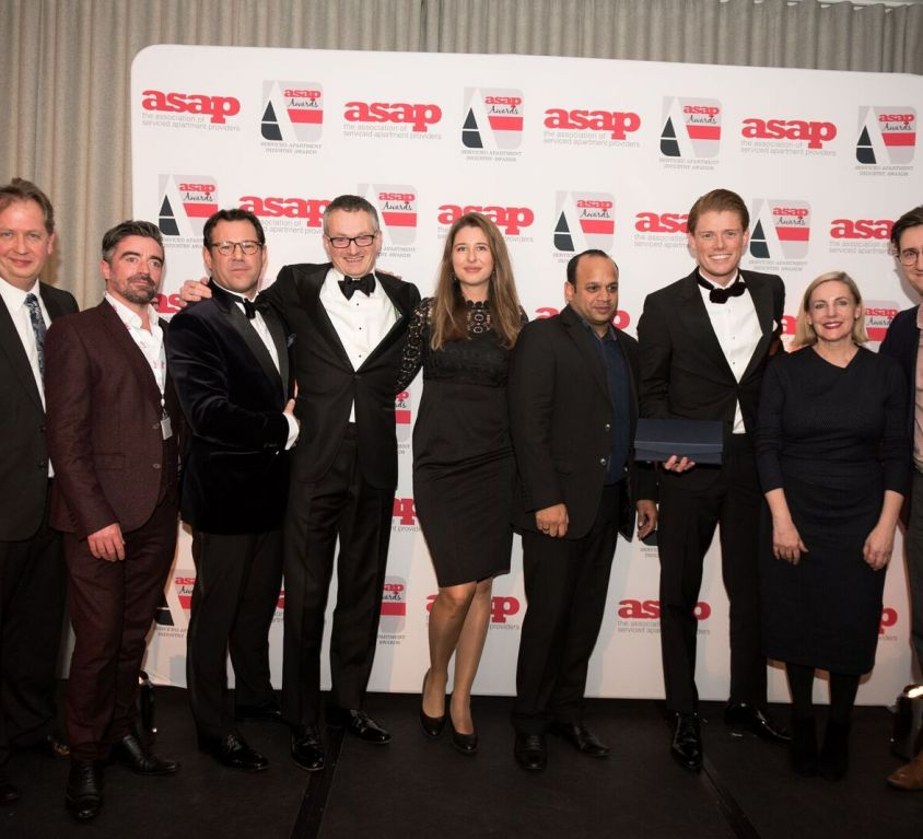 Corporate Housing Factory wins ASAP Team of the Year Award